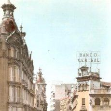 Postales: ALBACETE 12 CALLE DEL MARQUES DE MOLINS CIRCULADA 1963. Lote 104027595