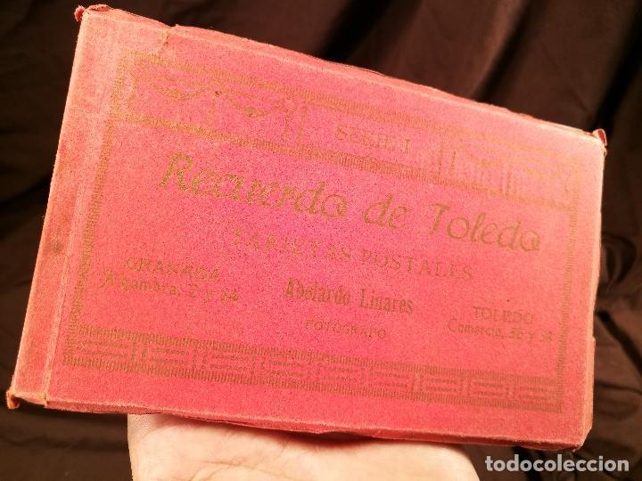 Postales: RECUERDO DE TOLEDO, BLOC DE TARJETAS POSTALES, SERIE I DE ABELARDO LINARES, 14 X 9 CM. - Foto 11 - 104312383