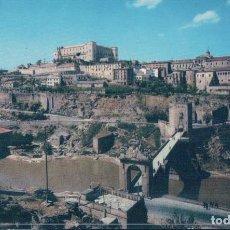 Postais: POSTAL TOLEDO 1 - VISTA GENERAL Y PUENTE DE ALCANTARA - ARRIBAS - COLOR. Lote 104861031
