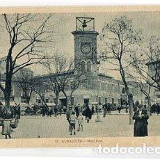 Postales: ALBACETE MERCADO L. ROISIN, FOT. SIN CIRCULAR. Lote 105326795