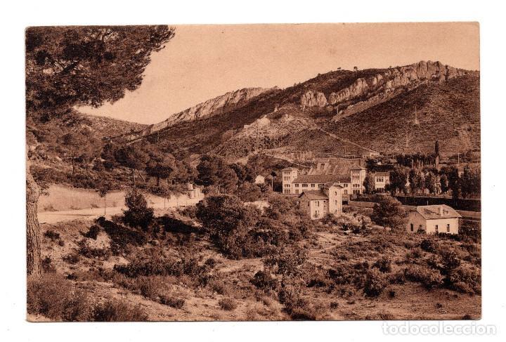 GUADALAJARA.- SALTO DE BOLARQUE - CASA DE MAQUINAS Y EIFICIOS (Postales - España - Castilla La Mancha Antigua (hasta 1939))