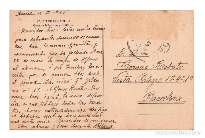 Postales: GUADALAJARA.- SALTO DE BOLARQUE - CASA DE MAQUINAS Y EIFICIOS - Foto 2 - 105496739