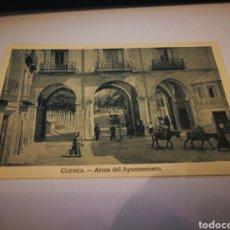 Postales: CUENCA ARCOS DEL AYUNTAMIENTO. Lote 105763090