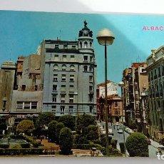 Postales: POSTAL DE ALBACETE PLAZA DEL CAUDILLO CIRCULADA AÑOS 70 EDICIONES PARIS J.M.. Lote 105823271