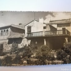 Postales: JARDIN DE LA CASA DEL GRECO. TOLEDO, SELLOS 1952.. Lote 106072663