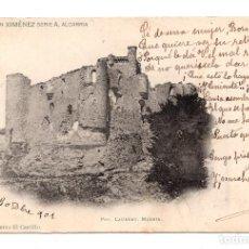 Postales: TORIJAS. - COLECCION XIMENEZ SERIE A. ALCARRIA - EL CASTILLO - Nº 10. FOT. LAURENT. . Lote 108668671
