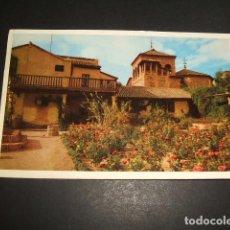 Postales: TOLEDO CASA DEL GRECO JARDIN. Lote 109738451