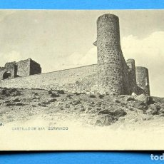 Postales: POSTAL DE TOLEDO: CASTILLO DE SAN SERVANDO. Lote 110250407