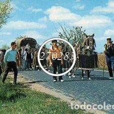 Postales: TOMELLOSO (CIUDAD REAL) Nº 2 ROMERIA - V DE MOISES MATA - SIN CIRCULAR - AÑO 1973. Lote 110727883