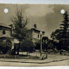 Postales: POSTAL CIUDAD REAL ATRIO JARDINES SAN PEDRO ED SALAS CIRCULARDA 1960 . Lote 110884827