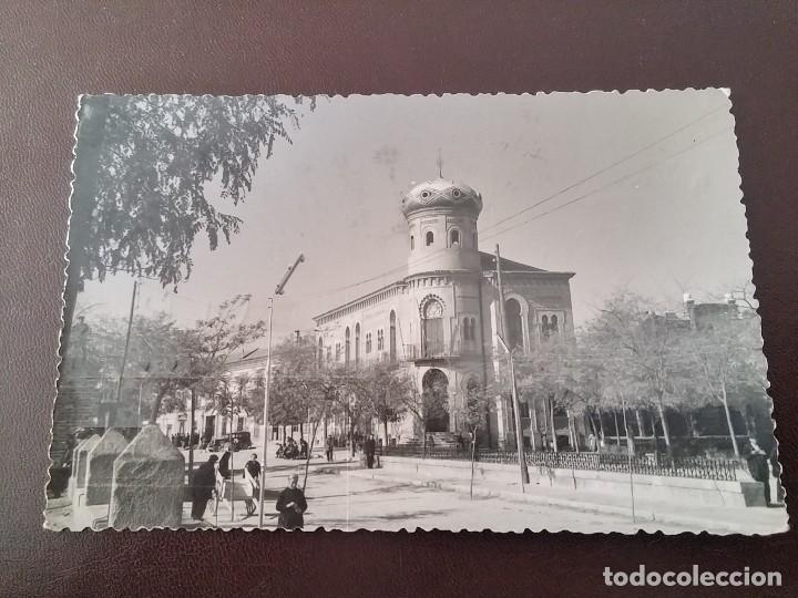FOTO POSTAL DE MORA (TOLEDO). AYUNTAMIENTO, LABORATORIOS FOTOGRÁFICOS ALBERTO. MADRID. CIRCULADA. (Postales - España - Castilla La Mancha Antigua (hasta 1939))