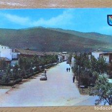 Postales: NAVAHERMOSA. TOLEDO. AVENIDA DE NTRA. SRA. DEL ROSARIO. (HELIOTIPIA ARTISTICA Nº4). COCHE 2CV.. Lote 111596219