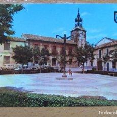 Postales: NAVAHERMOSA. TOLEDO. PLAZA DEL GENERALISIMO. (HELIOTIPIA ARTISTICA Nº3). COCHES... Lote 111596439