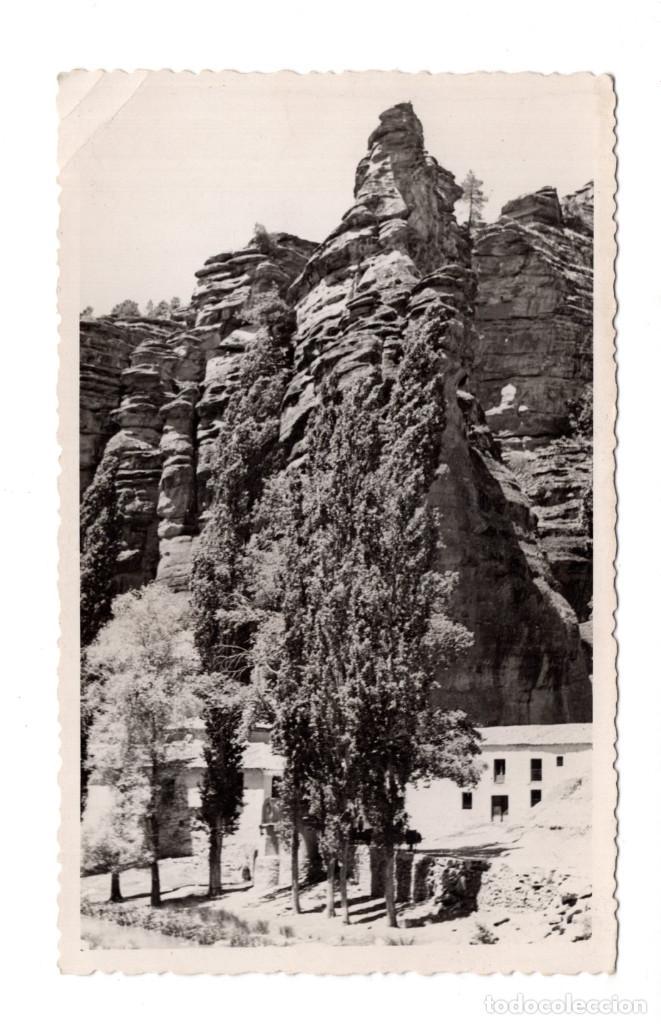 POSTAL FOTOGRÁFICA MOLINA DE ARAGÓN BARRANCO DE LA HOZ FOTO PECO - 1953 (Postales - España - Castilla la Mancha Moderna (desde 1940))