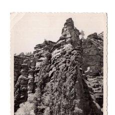 Postales: POSTAL FOTOGRÁFICA MOLINA DE ARAGÓN BARRANCO DE LA HOZ FOTO PECO - 1953. Lote 113267103