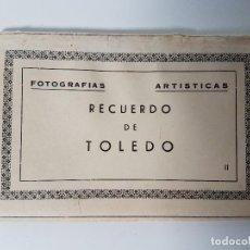 Postales: BLOCK 10 POSTALES RECUERDO TOLEDO ( FOTÓGRAFO EFI ). Lote 113772567