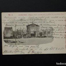 Postales: ANTIGUA POSTAL DE LA FERIA DE ALBACETE 1902 CIRCULADA A FORTUNA MURCIA. Lote 114734739