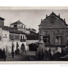 Postales: CHINCHILLA. ALBACETE.- EL AYUNTAMIENTO Y PLAZA DE LA CONSTITUCIÓN. COLECCIONES LOTY. Lote 114814527