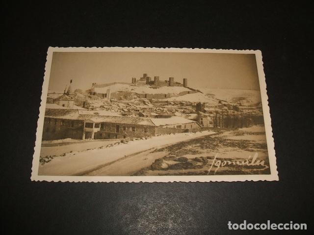 MOLINA DE ARAGON GUADALAJARA VISTA CON NEVADA POSTAL FOTOGRAFICA I GONZALEZ (Postales - España - Castilla La Mancha Antigua (hasta 1939))