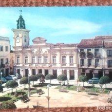 Postales: GUADALAJARA - PLAZA JOSE ANTONIO Y AYUNTAMIENTO. Lote 116745539