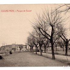 Postales: CIUDAD REAL.- PARQUE DE GASSET. Lote 116750059