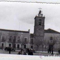 Postales: TOMELLOSO. PRUEBA FOTOGRÁFICA. PARROQUIA CIUDAD REAL.. Lote 116851659