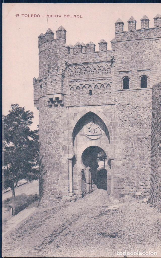 POSTAL TOLEDO 17 - PUERTA DEL SOL - MH (Postales - España - Castilla La Mancha Antigua (hasta 1939))