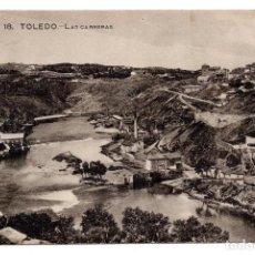 Postales: POSTAL TOLEDO. LAS CARRERAS. 18 GRAFOS.MADRID. Lote 117775531