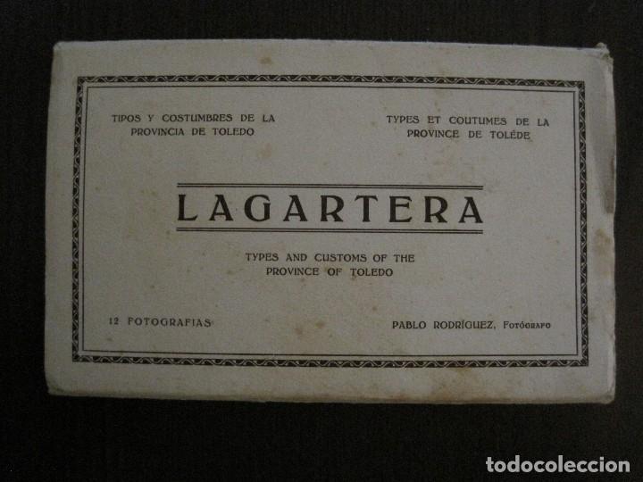 Postales: TOLEDO - LAGARTERA - LOTE 12 FOTOS - REVERSO BLANCO - POSTAL GIGANTE -VER FOTOS-(V-10.130) - Foto 3 - 118198919