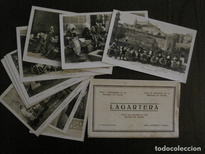 Postales: TOLEDO - LAGARTERA - LOTE 12 FOTOS - REVERSO BLANCO - POSTAL GIGANTE -VER FOTOS-(V-10.130) - Foto 5 - 118198919
