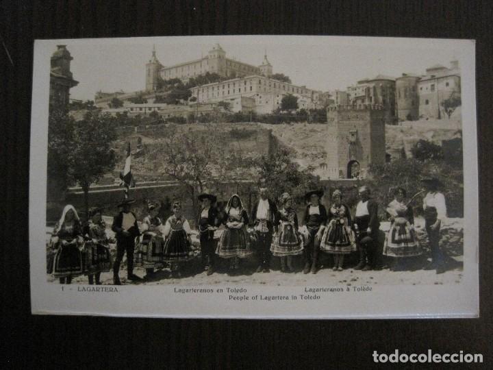 Postales: TOLEDO - LAGARTERA - LOTE 12 FOTOS - REVERSO BLANCO - POSTAL GIGANTE -VER FOTOS-(V-10.130) - Foto 6 - 118198919