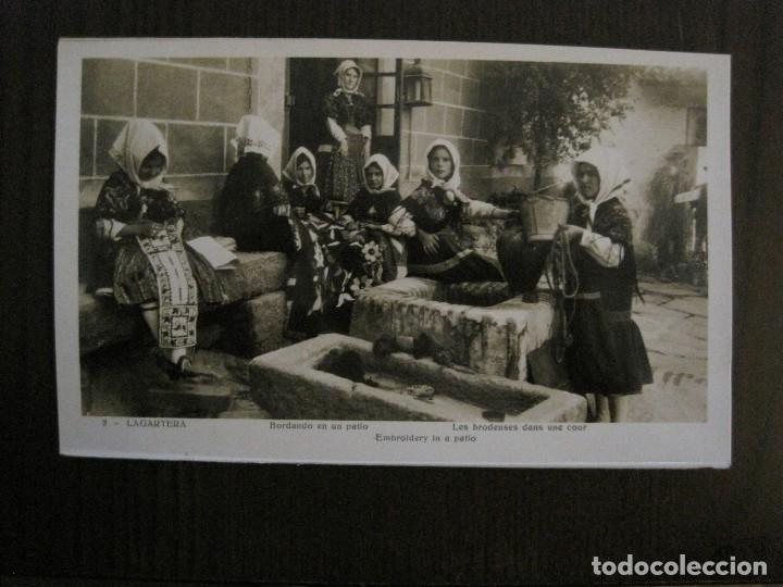 Postales: TOLEDO - LAGARTERA - LOTE 12 FOTOS - REVERSO BLANCO - POSTAL GIGANTE -VER FOTOS-(V-10.130) - Foto 9 - 118198919