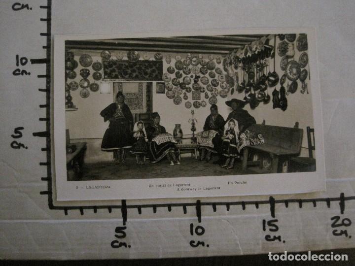 Postales: TOLEDO - LAGARTERA - LOTE 12 FOTOS - REVERSO BLANCO - POSTAL GIGANTE -VER FOTOS-(V-10.130) - Foto 20 - 118198919
