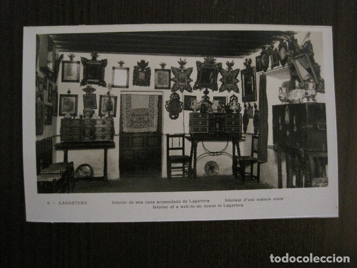 Postales: TOLEDO - LAGARTERA - LOTE 12 FOTOS - REVERSO BLANCO - POSTAL GIGANTE -VER FOTOS-(V-10.130) - Foto 21 - 118198919