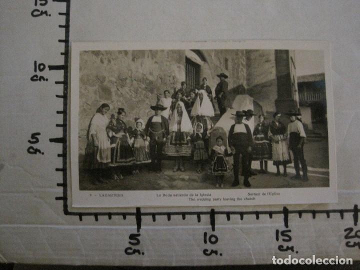 Postales: TOLEDO - LAGARTERA - LOTE 12 FOTOS - REVERSO BLANCO - POSTAL GIGANTE -VER FOTOS-(V-10.130) - Foto 32 - 118198919