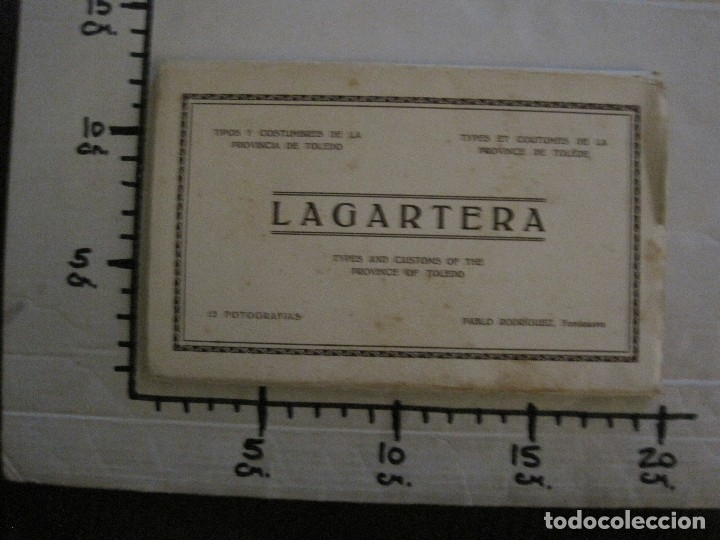 Postales: TOLEDO - LAGARTERA - LOTE 12 FOTOS - REVERSO BLANCO - POSTAL GIGANTE -VER FOTOS-(V-10.130) - Foto 43 - 118198919