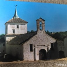 Postales: ANTIGUA POSTAL SANTA CRUZ DE MÚDELA CIUDAD REAL VISTA SANTUARIO DE LAS VIRTUDES 3. Lote 118421199
