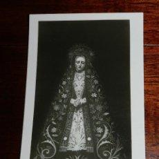 Postales: FOTO POSTAL DE LA VIRGEN DE LA SOLEDAD, YUSTA Y RUFINA, TOLEDO, NO CIRCULADA.. Lote 143681912