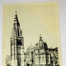 Postales: ANTIGUA POSTAL - TOLEDO, CATEDRAL, FACHADA PRINCIPAL / FOTOTIPIA HAUSER Y MENET. Lote 118717939