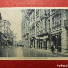 Postales: POSTAL - ESPAÑA - ALBACETE - 9.- CALLE MARQUÉS DE MOLINS - L. ROISIN -. Lote 120002695