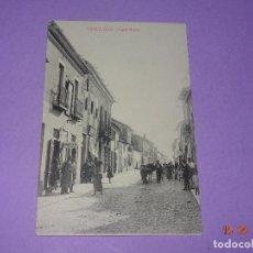 Postales: ANTIGUA TARJETA POSTAL DE TOMELLOSO CON CALLE NUEVA - FOT. L. SAUS (VANDERMAN) - AÑO 1930S.. Lote 121597031