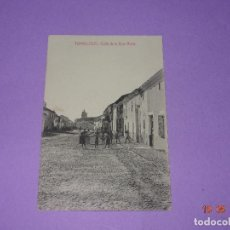 Postales: ANTIGUA TARJETA POSTAL DE TOMELLOSO - CALLE DE LA CRUZ VERDE - FOT. L. SAUS (VANDERMAN) - AÑO 1930S.. Lote 121597671