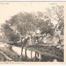 Postales: ALBACETE. CANAL DE MARÍA CRISTINA. COLECCIÓN COLLADO. FOT.LAURENT,MADRID.. Lote 122132295