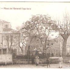Postales: ALBACETE. PLAZA DEL GENERAL ESPARTERO.. Lote 122132711
