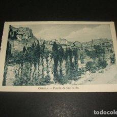 Postales: CUENCA PUENTE DE SAN PABLO. Lote 122556291