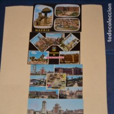 Postales: 4 POSTALES ANTIGUAS DE MADRID. Lote 123290735