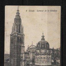 Postales: ESPAÑA TARJETA POSTAL DE TOLEDO CIRCULADA A COLOMBIA. Lote 124442863