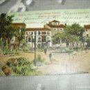 Postales: POSTAL FOTOGRAFO ORTEGA JARDINES ALTOSANO. Lote 124453103