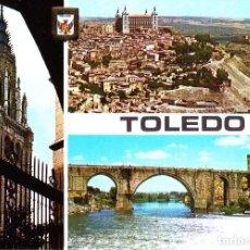 Postales: TOLEDO -TORRE DE LA CATEDRAL- (DOMINGUEZ Nº 133) SIN CIRCULAR / P-3551. Lote 124630011