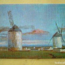 Postales: CRIPTANA ATARDECIENDO - OLEO I. ANTEQUERA. Lote 126243751